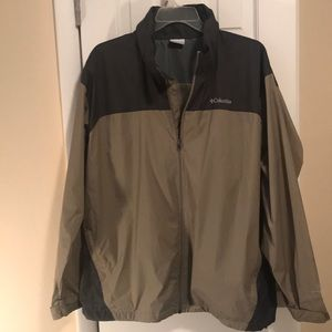 Men's Columbia Jacket Windbreaker xxl